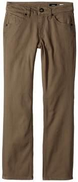 Volcom Vorta Five-Pocket Slub Pants Boy's Casual Pants