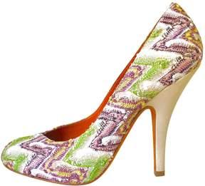 Missoni Leather heels