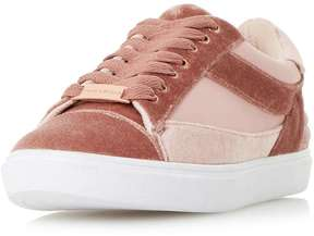 Head Over Heels *Head Over Heels by Dune Blush 'Elize' Trainers