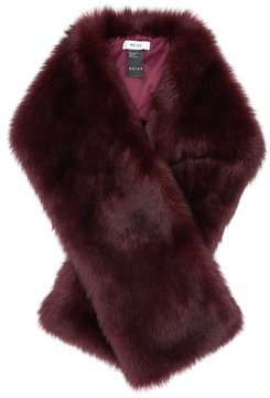 Reiss Gypsy Faux Fur Scarf