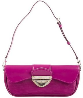 Louis Vuitton Epi Montaigne Clutch - PURPLE - STYLE