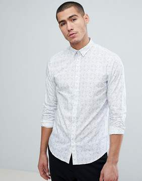 Jack and Jones Slim Fit Printed Shirt