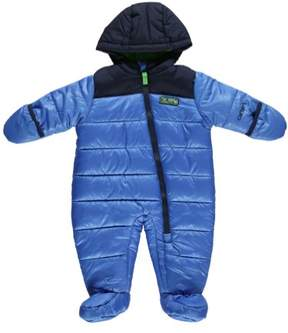 Carter's Carter Infant Boy Quilted Blue Snowsuit Baby Pram Adventure Scout Snow Suit 6-9m