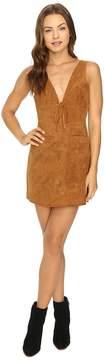 Capulet Tie Front Mini Dress