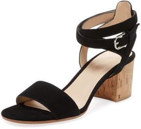 Pour La Victoire Women's Amana Suede Two-Piece Sandal