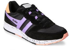 Gola Black & Lilac Samurai Sneakers