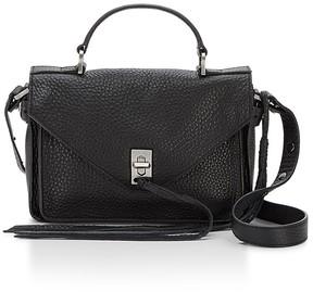 Rebecca Minkoff Small Darren Satchel Bag - BLACK - STYLE
