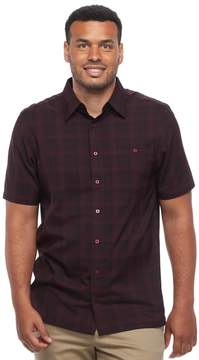 Haggar Big & Tall Classic-Fit Microfiber Easy-Care Button-Down Shirt