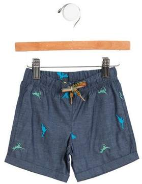 Paul Smith Boys' Embroidered Chambray Shorts w/ Tags
