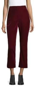 Derek Lam 10 Crosby Velvet Crop Pants