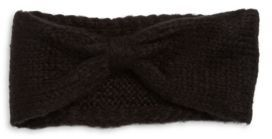 Wooden Ships Knit Wool-Blend Bow Headband