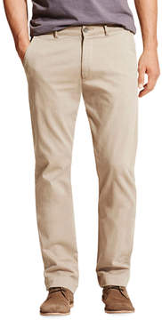 DL1961 Premium Denim Casual Straight-Leg Chino Pants, Beige