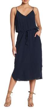 Go Silk go > by GoSilk Go Bare it All Fringe Trim Silk Dress