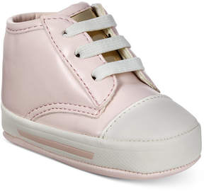 First Impressions Pink Sneakers, Baby Girls, Created for Macy's