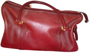 Cartier Leather 24h bag