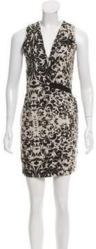 Diesel Abstract Print Sleeveless Dress