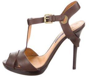 Ralph Lauren Purple Label Jamiya T-Strap Sandals