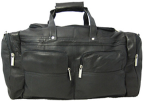David King Leather 302 Sport Duffel