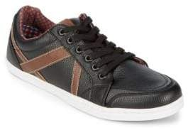 Ben Sherman Knox Leather Low Top Sneakers