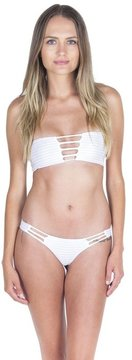 Bettinis Lace-Up Bandeau