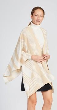 J.Mclaughlin Harrow Wrap in Odd Stripes