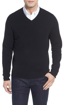 John W. Nordstrom Men's Cashmere V-Neck Sweater