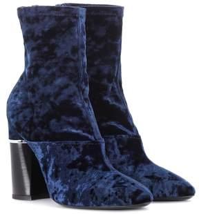 3.1 Phillip Lim Velvet ankle boots