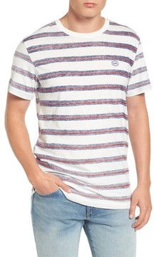 RVCA Men's Warped Stripe T-Shirt