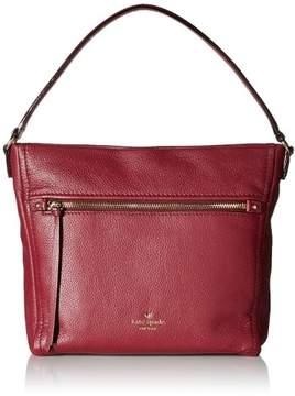 Kate Spade Cobble Hill Teagan Hobo Bag - Merlot - PXRU6478-632 - RED - STYLE