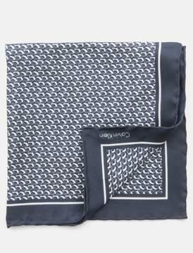 Calvin Klein cala print pocket square