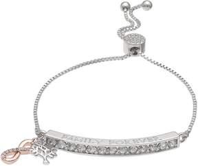 Brilliance+ Brilliance Family Forever Adjustable Bracelet with Swarovski Crystals