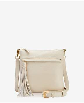 GiGi New York | Scout Crossbody In Ivory Napa Luxe | Neutral