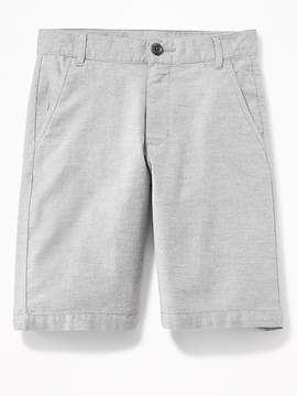 Old Navy Straight Built-In Flex Flat-Front Shorts for Boys