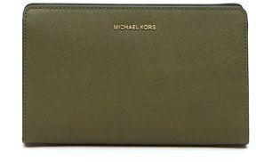 MICHAEL Michael Kors Crossbody Clutch Jet Set - OLIVE - STYLE