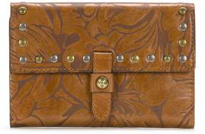 Patricia Nash Colli Laser-Cut Floral Leather Wallet