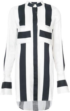 ADAM by Adam Lippes striped long-line shirt