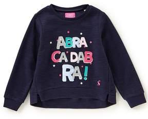 Joules Little Girls 3-6 Abracadabra Long-Sleeve Sweater
