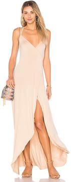 Clayton Dita Wrap Maxi Dress
