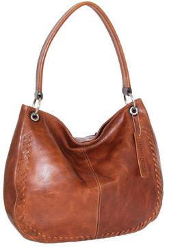 Women's Nino Bossi Tessa Leather Hobo Bag