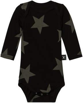 Nununu Black Star Print Body