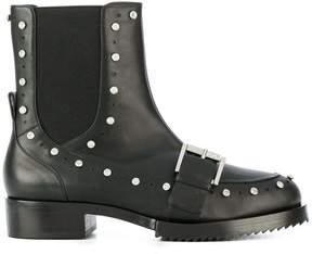 No.21 embellished biker boots