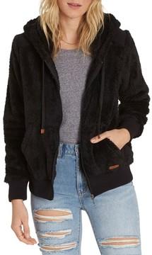 Billabong Women's Cozy Down Fleece Hoodie