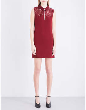 Claudie Pierlot Ramos crepe mini dress