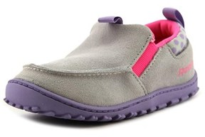 Reebok Ventureflex Moc Toddler Moc Toe Synthetic Gray Loafer.