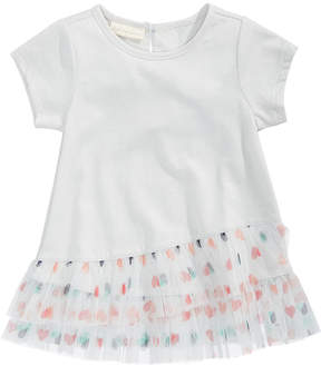 First Impressions Tulle Hearts T-Shirt, Baby Girls (0-24 months), Created for Macy's