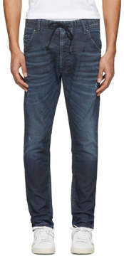 Diesel Blue Krooley-Ne Jogg Jeans