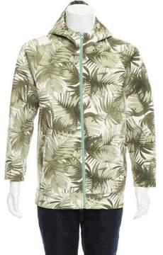 Scotch & Soda Palm-Print Hooded Sweatshirt