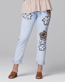 Alice & You Floral Boyfriend Jeans