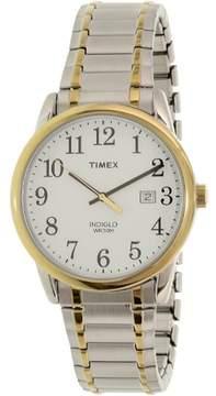 Timex Men's TW2P81400 Silver Stainless-Steel Analog Quartz Dress Watch