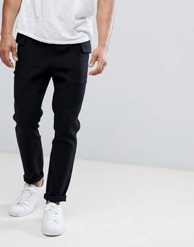 NATIVE YOUTH Twill Cargo Pocket Pants